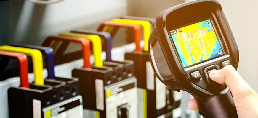 THERMAL IMAGING - Abnormal heating associated with high resistance or excessive current flow is the main cause of many problems in electrical systems. Infrared thermography allows us to see these invisible thermal signatures of impending damage before the damage occurs.