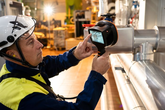 ACOUSTIC/ ULTRASOUND AIR LEAK DETECTION  - Compressed air leak detection and localization, real-time leak size and cost estimate